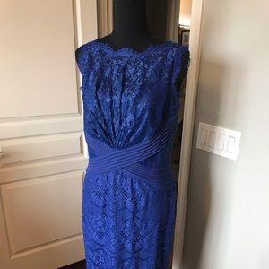 Beautiful Tadashi Blue Dress